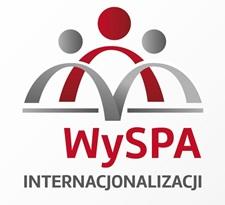 Logo projektu WySPA internacjonalizacji