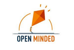 Logo projektu Open Minded dot. zwiększenia potencjału WSPA w Lublinie w obszarze związanym z obsługą i współpracą z zagranicznymi studentami oraz kadrą akademicką