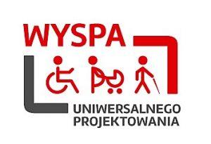 Logo projektu WySPA Uniwersalnego Projektowania.