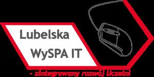 Logo projektu Lubelska WySPA IT - zintegrowany program rozwoju uczelni.